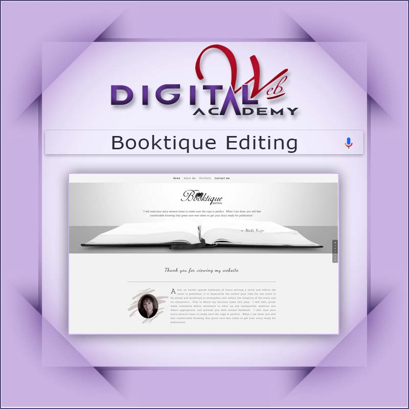 Booktique Editing