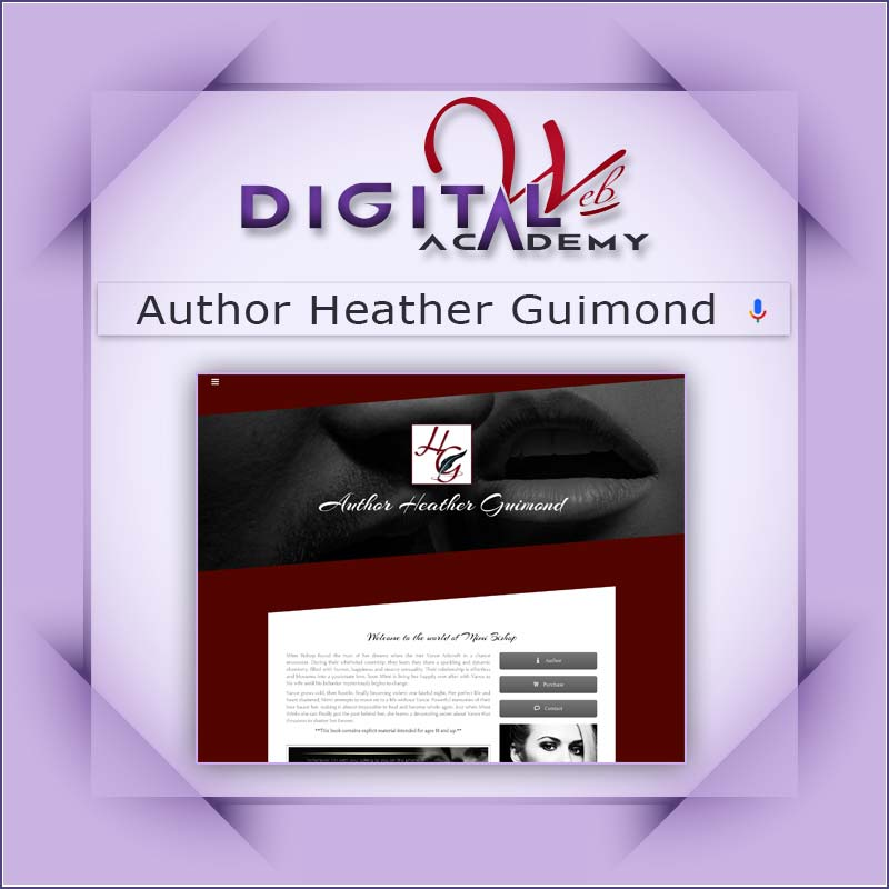 Author Heather Guimond