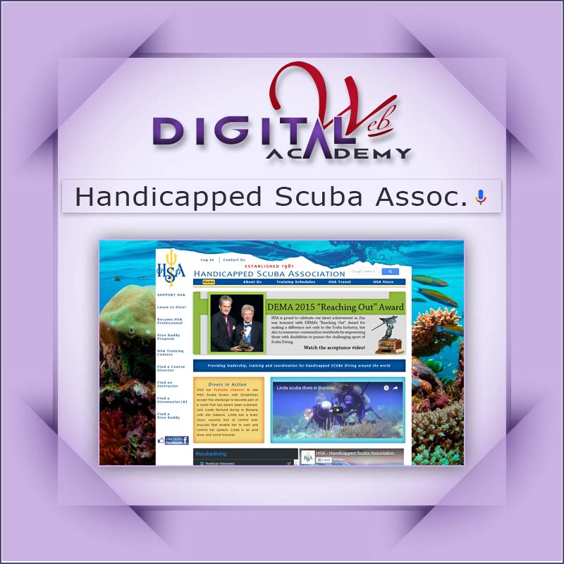 Handicapped SCUBA Association